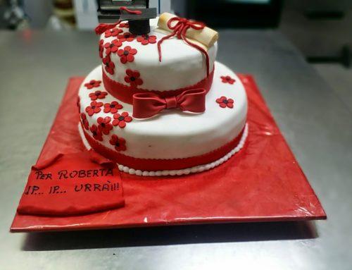 Torta Laurea 2 piani – rotonda